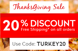 Thanksgiving Sale 2019